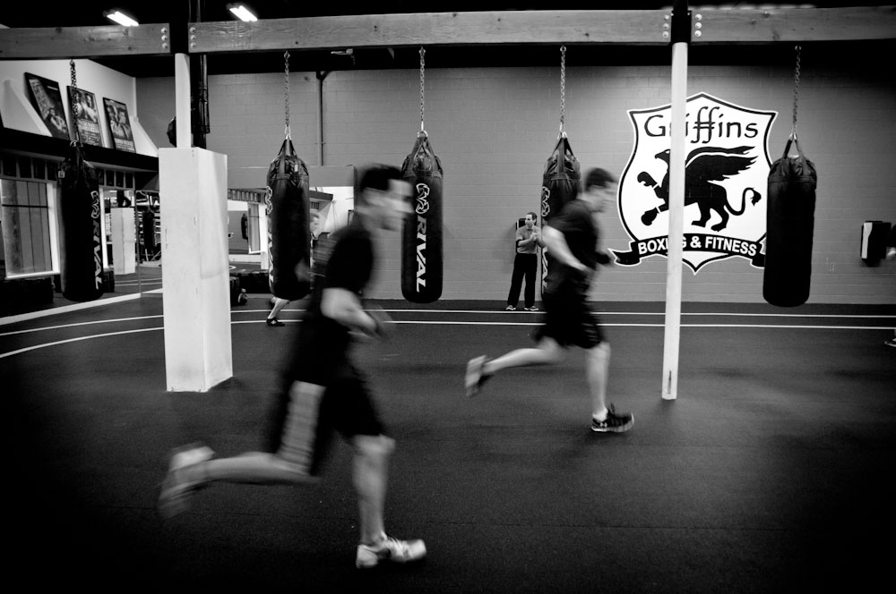 Griffins boxing and Fitness boxfit classes